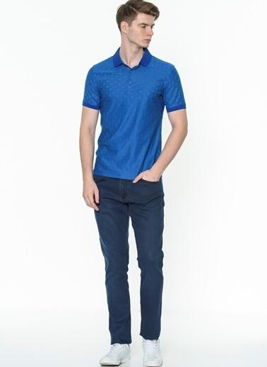 Daffari Tişört Mavi